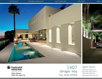 Prudential California Realty property website listing