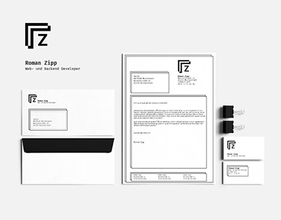 Branding - Roman Zipp Web- und Backend Developer