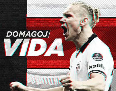Domagoj Vida - Football Player Design x PNRL