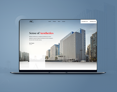 Arc - Architectural Studio Website