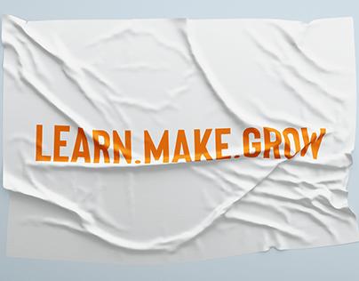Learn Make Grow