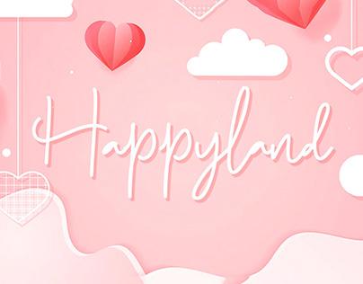 Free Happyland Script Font