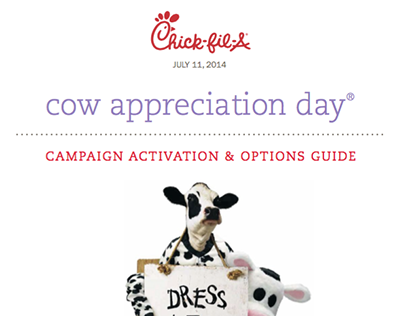 Chick-fil-A 2014 Spring Back to School Campaign