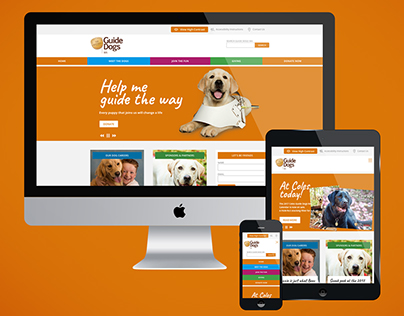 Guide Dogs WA Website