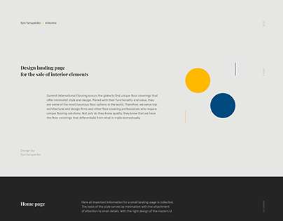 Design landing-page from SIF | UI/UX