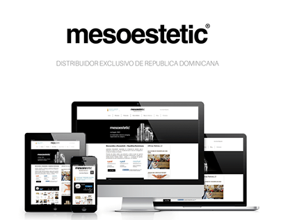 Mesoestetic - Web Design 2.0