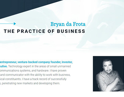 Bryan da Frota's Website