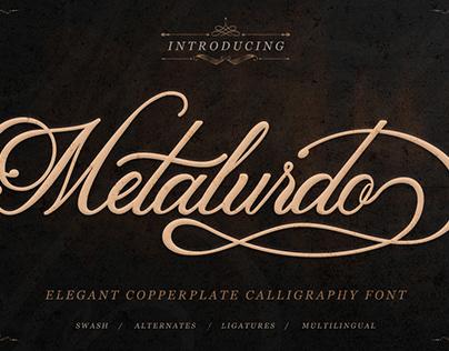Free Metalurdo Calligraphy Font