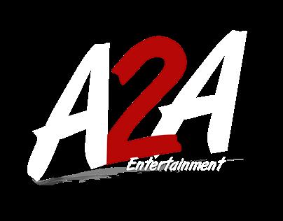 A2A Entertainments logo design