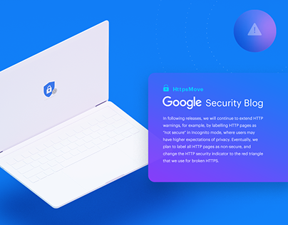 Landing page of the Google Friendly Move Service.
