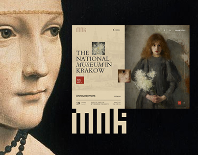 The National Museum in Krakow: Redesign concept
