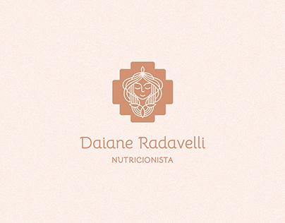 Identidade Visual Nutricionista - Daiane Radavelli