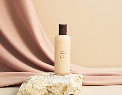 'TONER BLEND' Brand Product Design