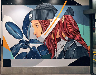 Brisbane Street art Festival. 2019. Australia.
