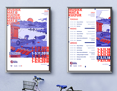 Norsk Rakfiskfestival | Visual identity