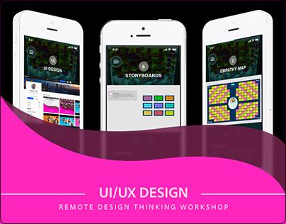 Remote Design Thinking Workshop in Adobe XD