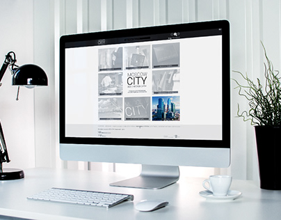 Web-Design for MOSCOW CITY