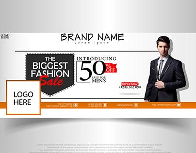 Facebook Cover Design Banner (Fashion)