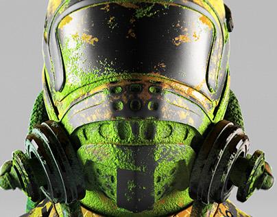 Rusty Helmet.
