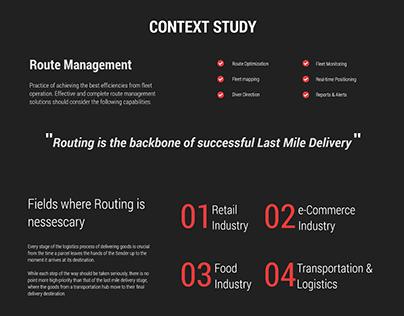 Route management-study