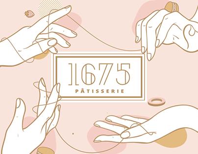 1675 Patisserie Branding