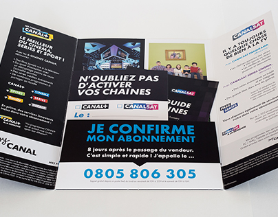 Brochure de vente à domicile 2015 (Canal+/Canalsat)