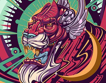 Hermes, The god Tiger