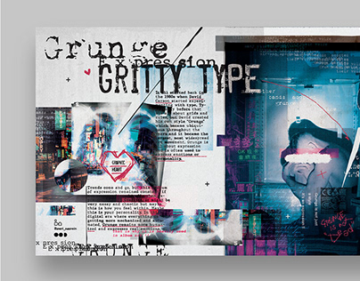 Grunge Aesthetics - Poster Collection 2020