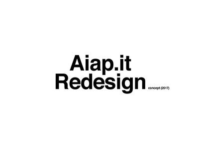 Aiap.com - redesign