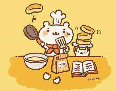 Illustration cooking