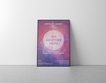 London City Singers: Concert Posters and Flyers