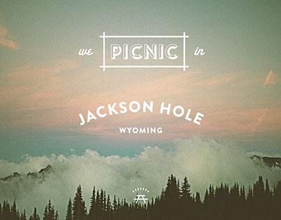 BRANDING: PICNIC JACKSON HOLE