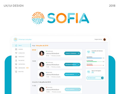 Sofia - Clinic Manager for Nutritionist
