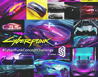 Join the #CyberPunkConceptChallenge