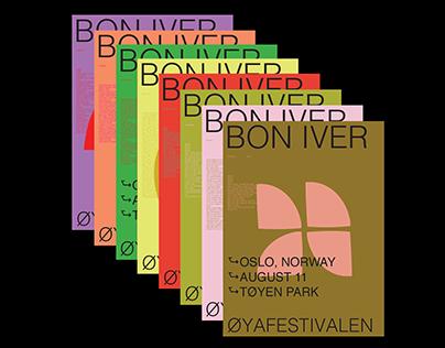 Bon Iver at Øyafestivalen