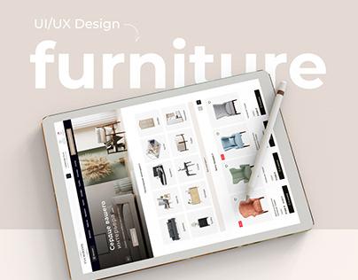 Eva Maranni / Furniture website UI/UX Design