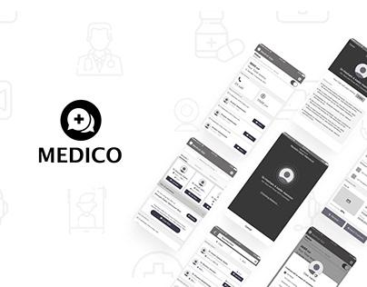 Medico App Interaction Design