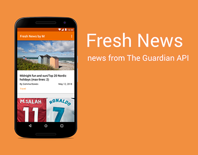 Fresh News App for Android
