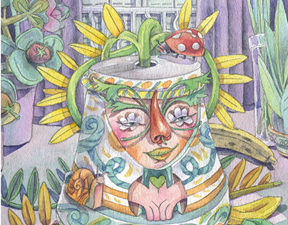 Homely Sprites, Children´s Book illustration