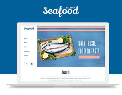 🐟 Seafood Restaurant - Branding & Web Design