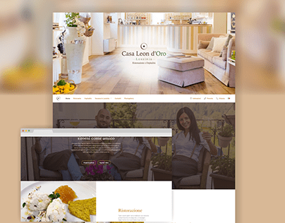 Casa Leon d'Oro - Web Design