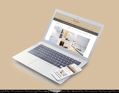 Duramacs website redesign