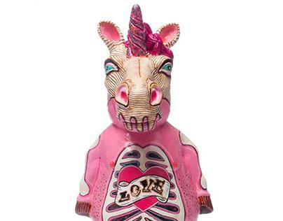 Unicorn costumized for Ornamante project
