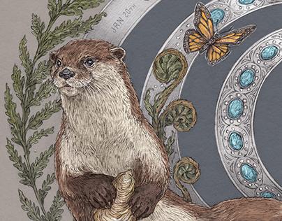 Otter - Animal Birth Totem