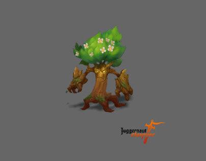 2D animation for mobile RPG clicker