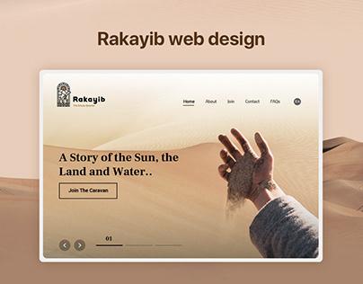 Rakayib web design
