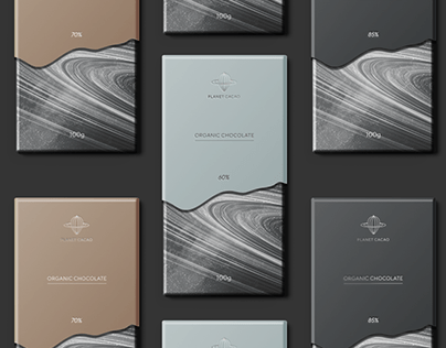 Planet cacao - Chocolate Packaging Design