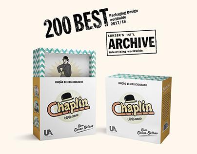 Chaplin - 100 anos | 200 Best Packaging Design worldwid