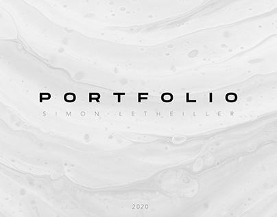 PORTFOLIO 2020 // SIMON LETHEILLER
