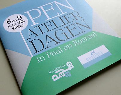 Open Atelier Dagen - vouwfolder